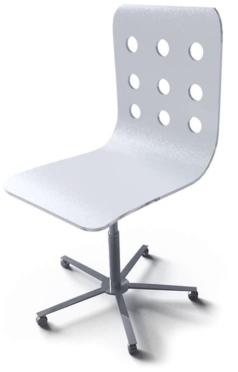 Cad And Bim Object Jules Swivel Chair Ikea Ikea Jules Swivel Chair