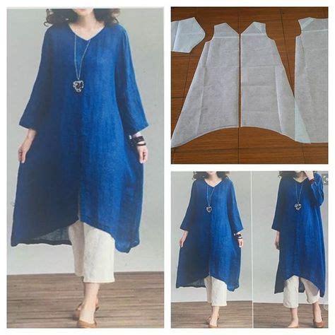 Novita Ribone Blouse Tunik v neck tunic blouse pattern sewing naaimachine projecten naaipatronen en stof