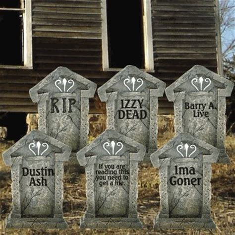 Tombstone Decorations by Outdoor Decorations Make Your Yard