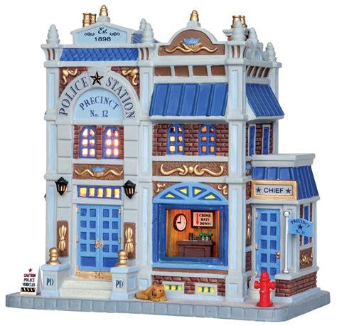 lemax police station precinct no 12 25379 miniature