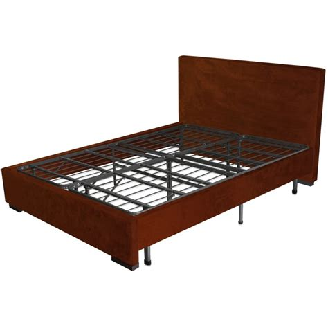 Black Solid Wood Queen Bed Frame With 2 Drawer And Storage Bed Frame With Mattress