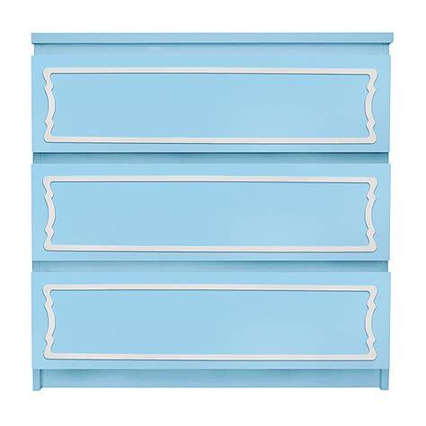 Malm 3 Drawer Dresser by O Verlays 6 X 29 Kit Malm 3 Drawer