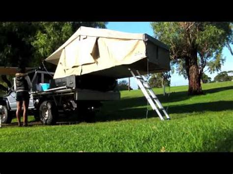ironman side awning ironman rooftop tent awning set up youtube