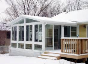 Four Season Porch Cost Four Season Vinyl Sunrooms Images Frompo