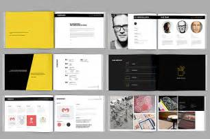 exhibitor prospectus template modern portfolio booklet 36 pages brochure templates