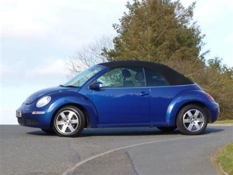 blue volkswagen beetle for sale used volkswagen beetle 2010 petrol 1 6 luna 2dr