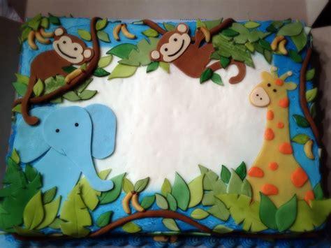 Box Baby Creatif Baby jungle baby shower decorations
