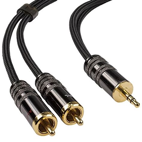 Kabel Hifi Rca To 2 Rca Audio 24k Gold Plated 3mtr Limited hifi bausteine rocabo bei i tec de