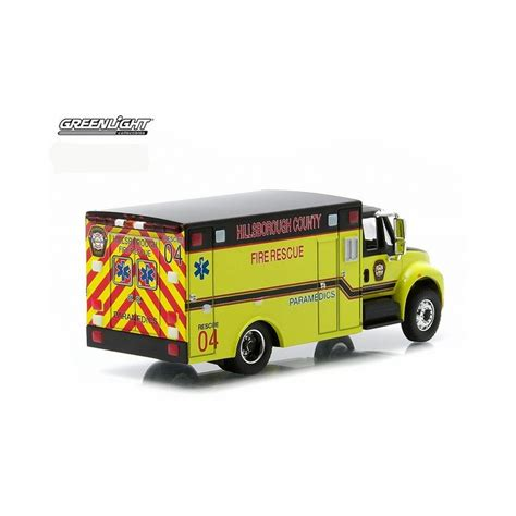 Greenlight International Durastar Ambulance Greenlight Hd Trucks Series 3 International Durastar