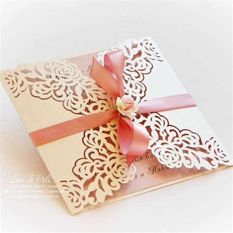 Silhouette Cameo Card Templates by Wedding Invitation Pattern Card 6 6 Quot Template Roses Lace