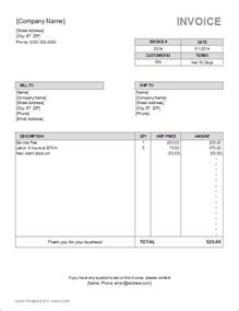bill template billing invoice template for excel