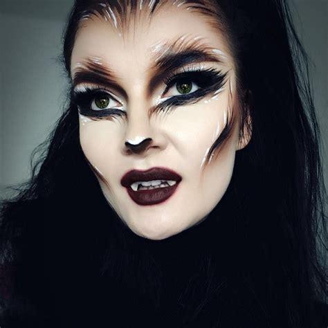 halloween hairstyles and makeup wolf makeup easy mugeek vidalondon