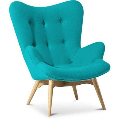 Sac Chair Fauteuil Cachemire Turquoise Inspir 233 Grant Featherston