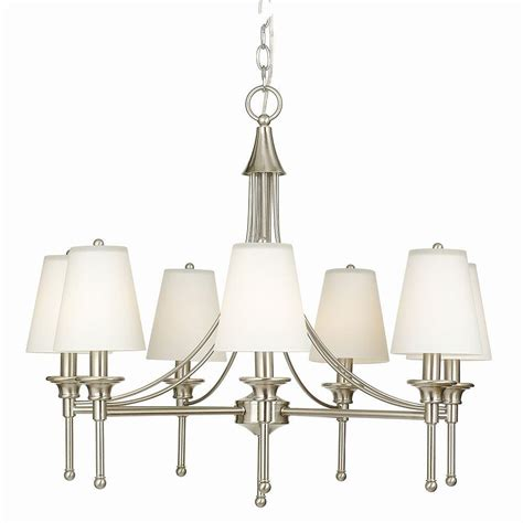 hton bay l shade replacements white chandelier shades shade h 21xw 50xd 50cm g7 white