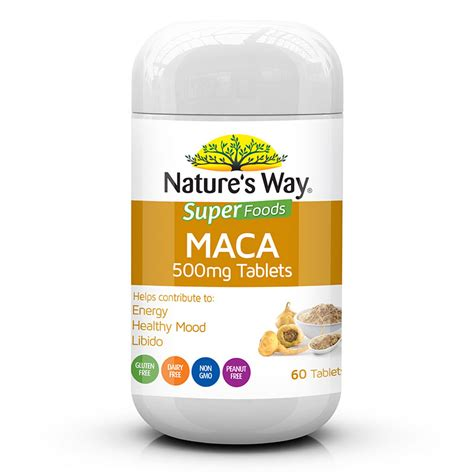 buy nature s way superfoods maca 500mg 60 tablets at chemist warehouse 174