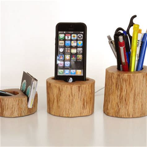 iphone station office organizer from valliswood