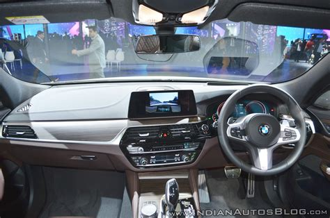 bmw dashboard at bmw 6 series gran turismo interior dashboard at auto expo 2018