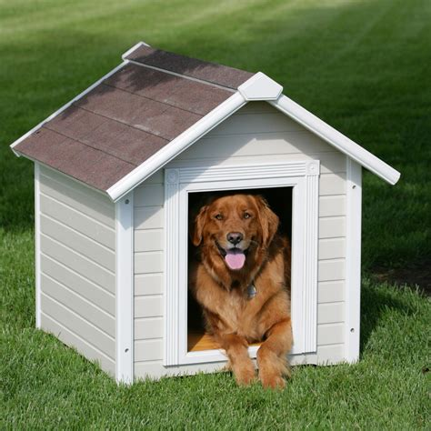 how to heat outside dog house precision country estate luxury dog house large dog houses at hayneedle