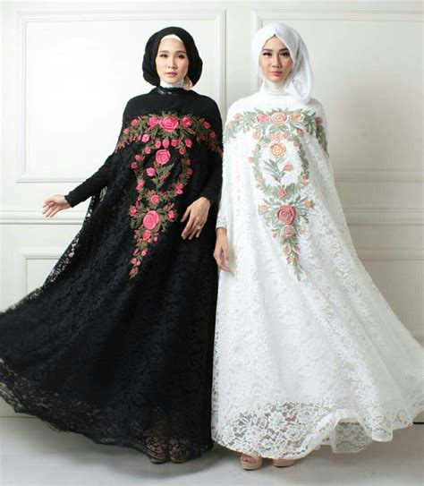 Baju Maxi Kaftan Wanita Ar2672 baju setelan kaftan brukat fashion terbaru modis modern