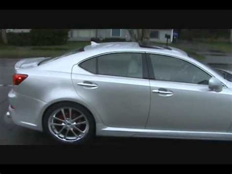 lexus is350 lowered 2008 lexus is350 kit 20 rims lowered