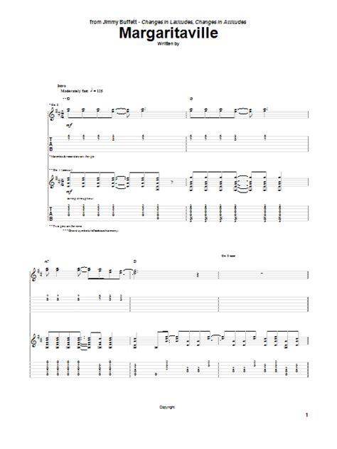 Jimmy Buffett Guitar Chords