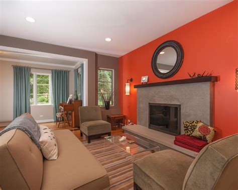 grey orange room contemporary living room grey and orange design pictures remodel decor and ideas exactly