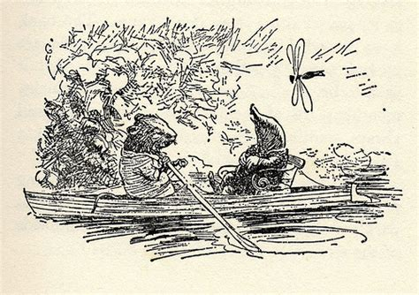 Sketches H by The Wind In The Willows Illustration E H Shepard Orange