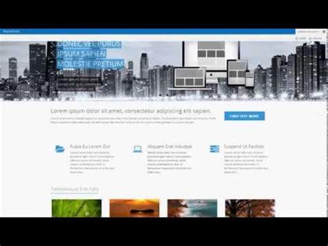 Somnio Premium Sharepoint 2013 Theme Youtube Free Master Page Templates
