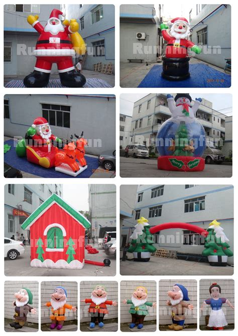 wholesale cheap large christmas tree outdoor inflatable