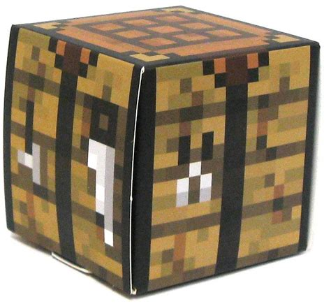 minecraft crafting bench minecraft crafting table papercraft on sale at toywiz com