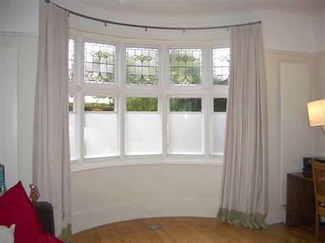Curtain Rods for Bay Windows   HomesFeed