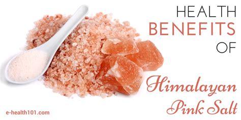 Himalayan Salt L Benefits by Health Benefits Of Himalayan Pink Salt