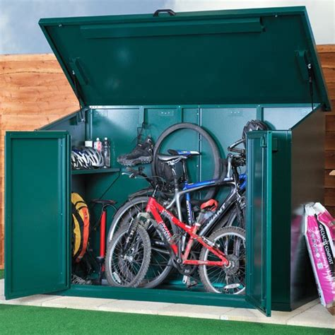 Motorbike Lock Up Shed by Metal Sheds Heavy Duty Asgard Motorcycle Bike