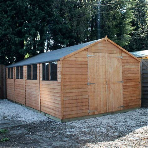 Outdoor Workshop Shed by Wooden Workshop Shed Garden Sheds 20ft X 10ft Work Shop