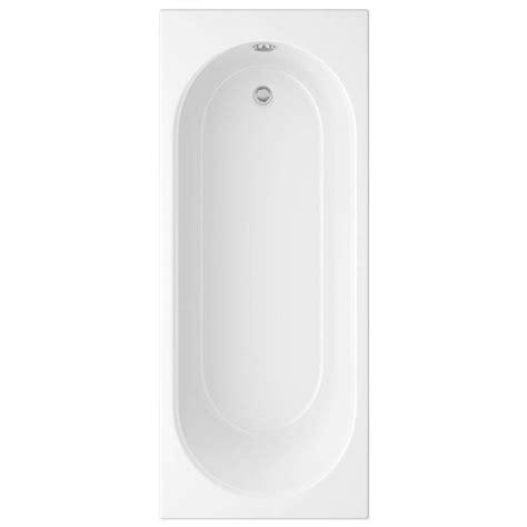 cascade bathrooms trojan cascade white single ended bath 1700 x 700mm 2