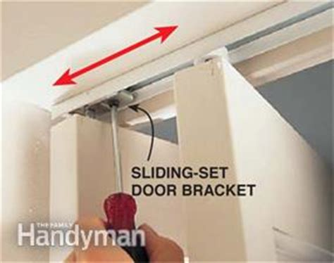 How To Fix A Bifold Door Family Handyman How To Repair Bifold Closet Doors