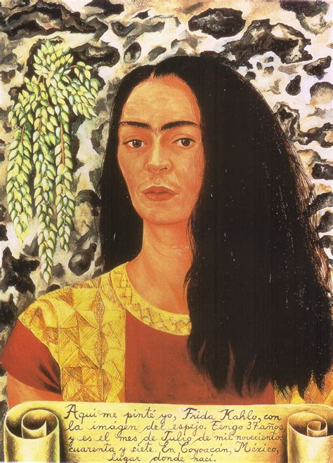 frida kahlo self portrait biography on hair brandpowder