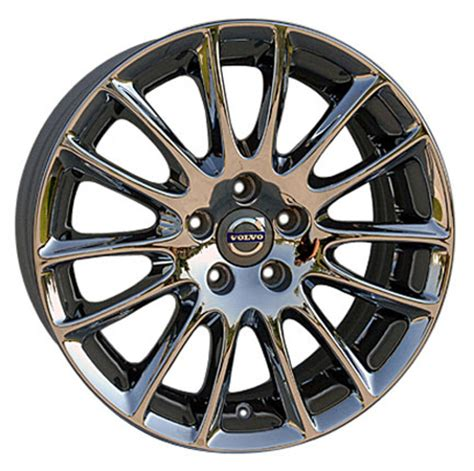 oem volvo wheels 17 quot chrome volvo tucana wheels set of 4 oem 70304 rims c70