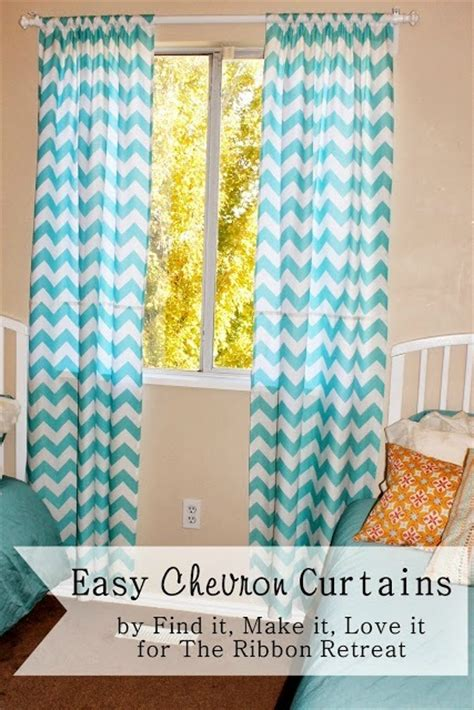 fabulous chevron curtains ikea decorating ideas images in easy chevron curtains the ribbon retreat blog