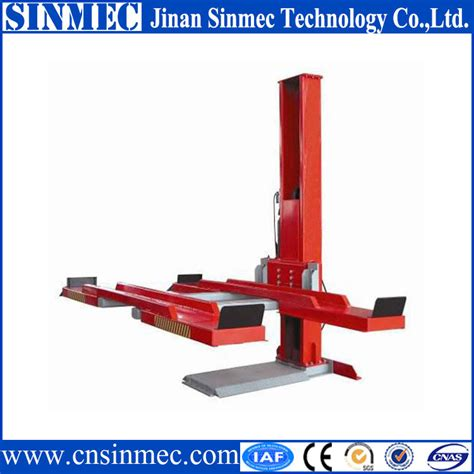 Single Post Car Lift Hidrolik Mobil Ikame sinmec single post mobile car lift buy mobile car lift