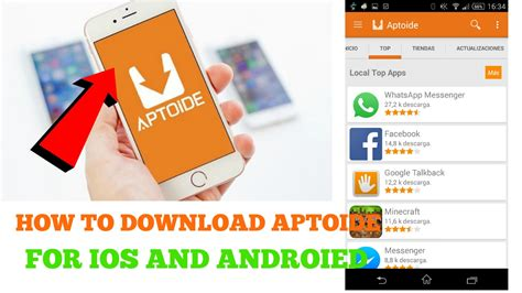 aptoide how to install how to download and install aptoide in android and ios