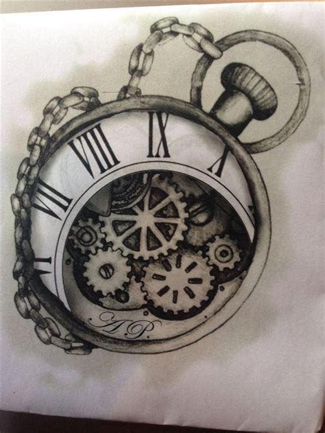 tattoo pocket watch designs 17 best images about timepiece tattoos on
