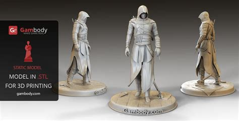 figure 3d printer model assassin creed 3d model assassin s creed 3d