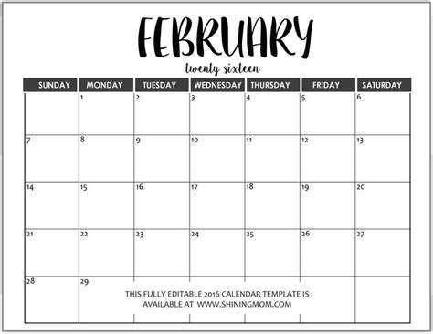 fully editable  calendar templates  ms word format  calendar template