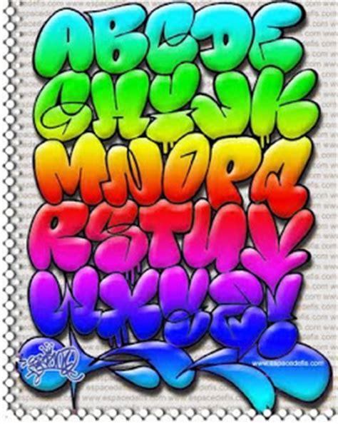 graffiti keren  gambar alphabet graffiti