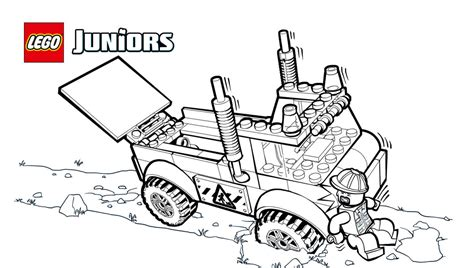 lego junior coloring pages lego 174 juniors stuck truck coloring page coloring pages