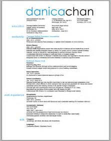 Resume Draft Template by Resume Cv Template Exles