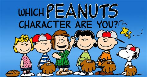what character are you which peanuts character are you brainfall