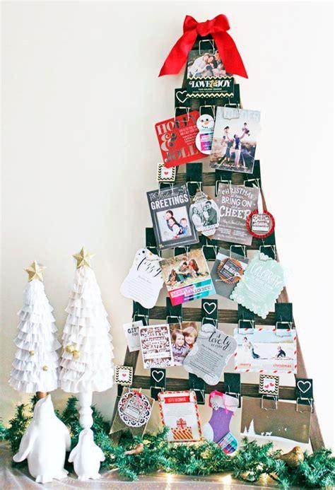 christmas card display 15 fun ways to display christmas cards eighteen25