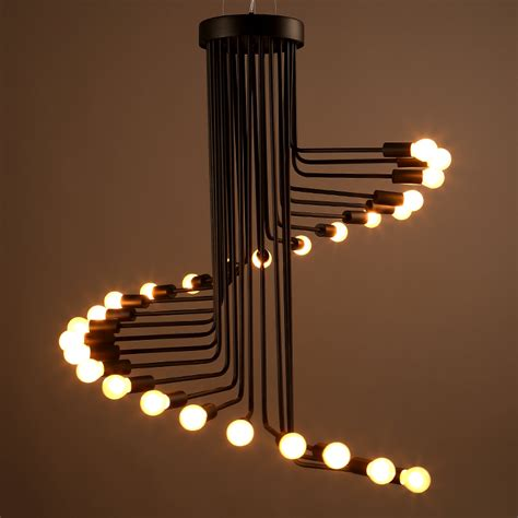 black light light america pendant l pendente industrial style droplight